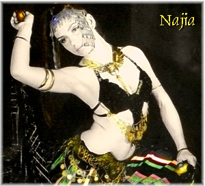 Najia looking tribal