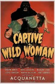 Wild woman poster