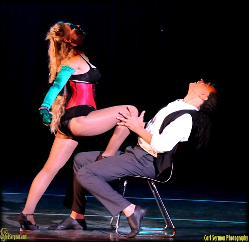 Beata and Horacio do burlesque