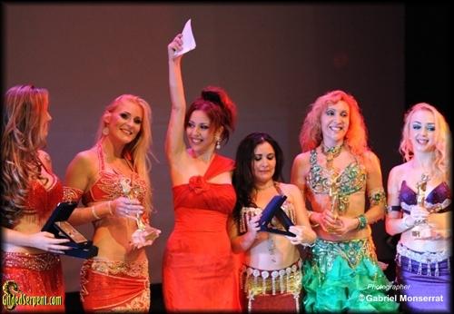 Amani with winners
