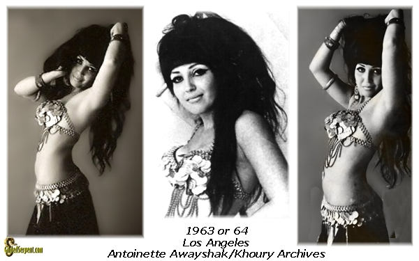 Antoinette photos session 1963 or 64