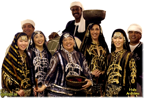 Hala's troupe