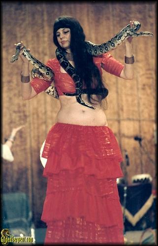 Samira Snakewoman of Davis