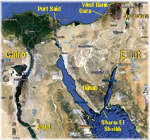 Eilat Map
