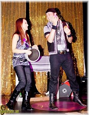 Karim Nagi and Kelli Li