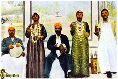 Assuit dancers