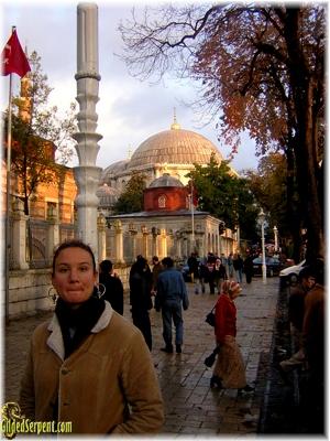 Elizabeth in Istanbul