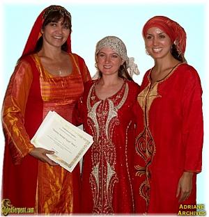 Sahra, Adriane and Aubre