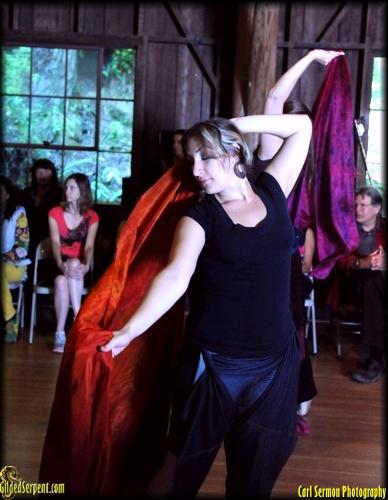 veil dancer