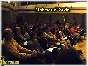 Mahmoud Reda in front row