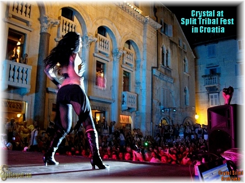 Crystal performs and the Split Fest
