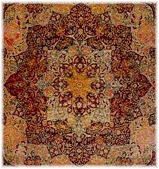 Intricate rug