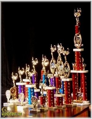 Belly Dancer of the Year Trophies
