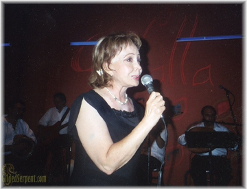 Ozel singing at Anahid's Satalla in 2004