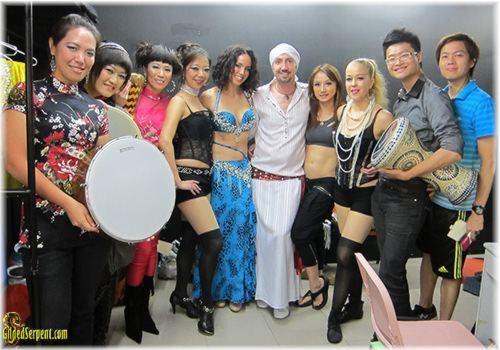 Hong Kong show participants