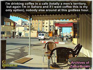 Cafe in Dakhla