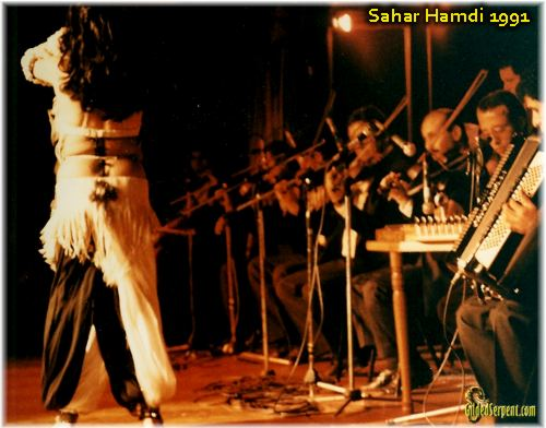 Sahar Hamdi and band