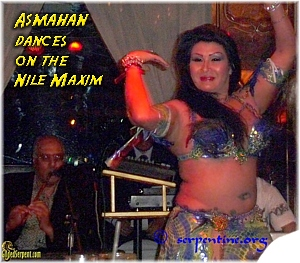 Asmahan dances on the Nile Maxim