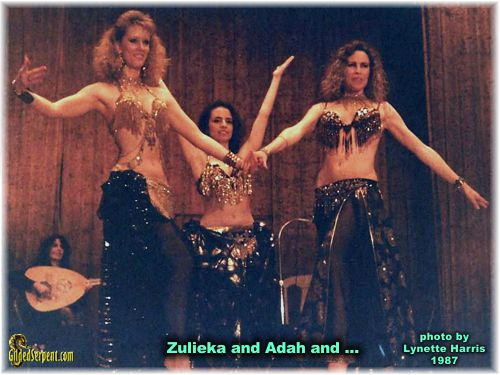 Zulieka and Adah and Stasha?