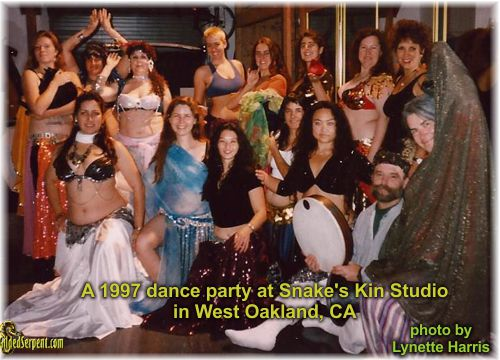 Snake's Kin Studio dance event for students