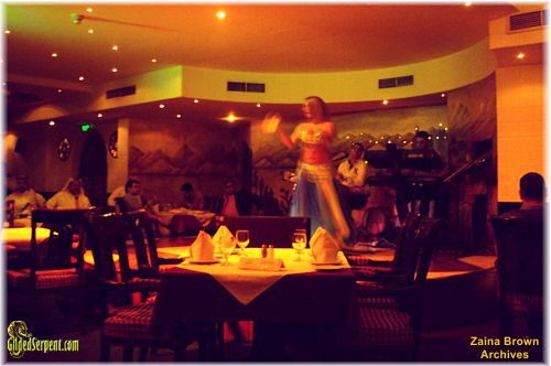 Lebanese dancer in Tarbouche