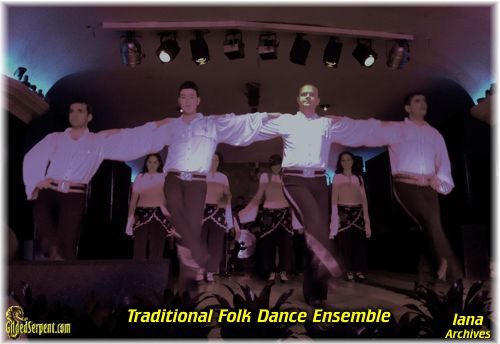 Folk Dance at the Orient House
