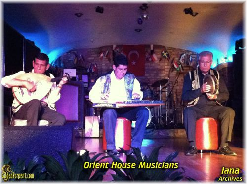 Musicians at the Orient House