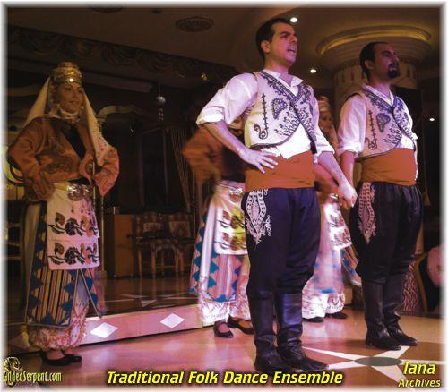 Folk Dance at Sultana's