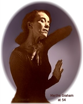 Martha Graham at 54