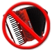 no accordion!