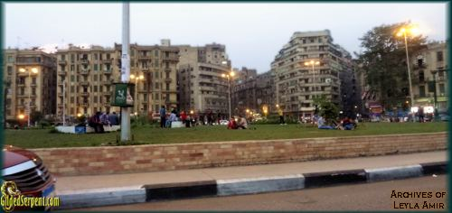 Tahir Square peaceful before the elections