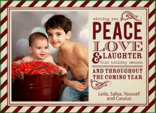 Happy Holidays from Leila Farid and Family