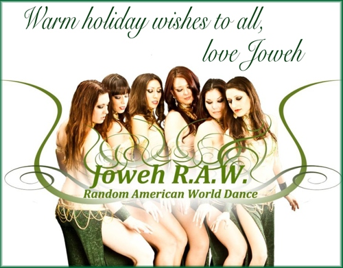 Holiday card from TerriAnne and Joweh!