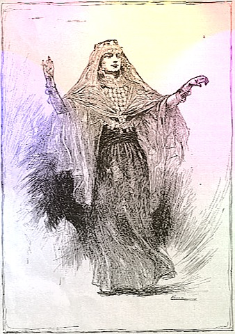 Algerian dancer from the 1893 World's Fair